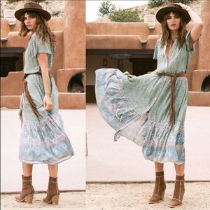 Spell Jasmine Flutter Dress